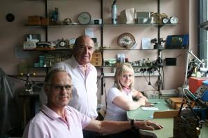 Uhren Thurner - drei Generationen Uhrmachermeister; Foto: Uhren Thurner