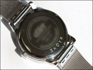 Gravur Armbanduhr; Foto: Uhren Thurner